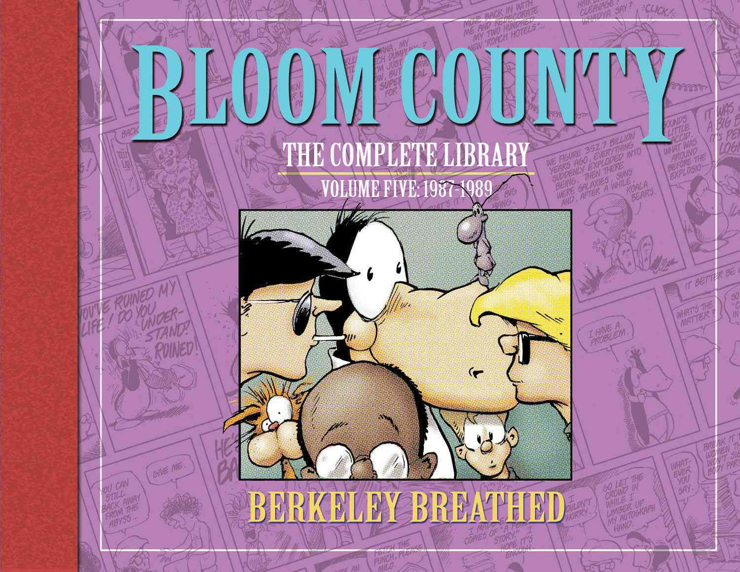 Bloom County 5 By Breathed, Berkeley